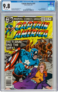 Captain America #232 (Marvel, 1979) CGC NM/MT 9.8 White pages
