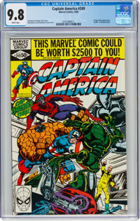 Captain America #249 (Marvel, 1980) CGC NM/MT 9.8 White pages