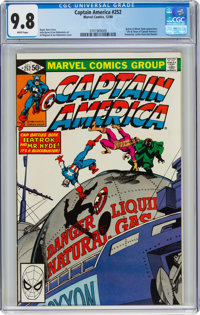 Captain America #252 (Marvel, 1980) CGC NM/MT 9.8 White pages