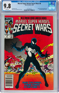 Marvel Super Heroes Secret Wars #8 (Marvel, 1984) CGC NM/MT 9.8 White pages