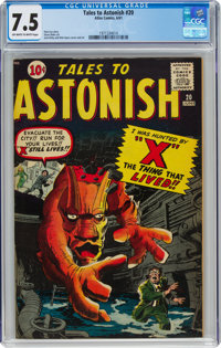Tales to Astonish #20 (Marvel, 1961) CGC VF- 7.5 Off-white to white pages
