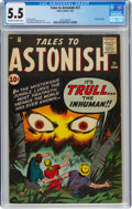 Silver Age (1956-1969):Horror, Tales to Astonish #21 (Marvel, 1961) CGC FN- 5.5 Off-white to white pages....