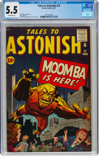 Tales to Astonish #23 (Marvel, 1961) CGC FN- 5.5 Off-white pages