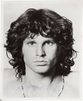"Music Memorabilia:Autographs and Signed Items, The Doors - Jim Morrison Signed 8"" x 10"" Black and White Photo...."