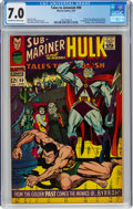 Silver Age (1956-1969):Superhero, Tales to Astonish #90 (Marvel, 1967) CGC FN/VF 7.0 Off-white to white pages....