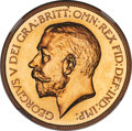 Great Britain, Great Britain: George V gold Proof 5 Pounds 1911 PR67 NGC,...