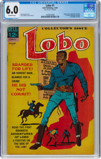 Lobo #1 (Dell, 1965) CGC FN 6.0 Off-white pages