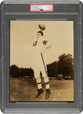 Football Collectibles:Photos, 1940's Otto Graham Original Photograph Used on 1950 Bowman Rookie Card, PSA/DNA Type 1....