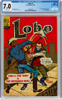 Lobo #2 (Dell, 1966) CGC FN/VF 7.0 Off-white pages
