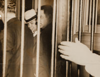 "Weegee (American, 1899-1968) Just An Old Tale Retold, Martin ""Buggsy"" Goldstein, 31st Arrest, April 22, 1937 G..."