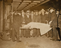 Weegee (American, 1899-1968) Another New York Death, circa 1937 Gelatin silver 6-1/2 x 8-3/8 inches (16.5 x 21.3 cm)