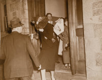 Weegee (American, 1899-1968) Women Leaving Court (3 works), circa 1937 Gelatin silver 9-3/4 x 7-5/8 inches (24.8 x 19...