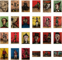 Bernard Buffet (1928-1999) Mon Cirque (24 works), 1968 24 lithographs in colors on Arches paper 2