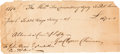 Autographs:Statesmen, Declaration of Independence Signer George Clymer Document ...