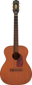 Musical Instruments:Acoustic Guitars, Circa 1960's Harmony H165 Natural Acoustic Guitar, Serial #2407 H165.. ...