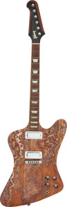 Musical Instruments:Electric Guitars, 2003 Gibson Firebird V Banded Agate Stone-Top Solid Body Electric Guitar, Serial #02533388.. ...