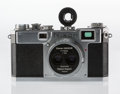Collectible, Nikon S2 Rangefinder Camera with Stereo-Nikkor 3.5cm f/3.5 Lens. No. 6176411, Nippon Kogaku, Japan, 1956, with chrome dials,...