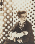Photographs, Cecil Beaton (British, 1904-1980). Nancy Cunard, 1929. Gelatin silver. 3 x 2-3/8 inches (7.6 x 6.0 cm). Signed in ink an...