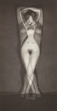 Man Ray (American, 1890-1976) Demain, 1932 Gelatin silver, 1957 6-1/4 x 3-1/4 inches (15.9 x 8.3