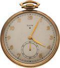 Football Collectibles:Others, 1939 Texas A&M Aggies NCAA Football Championship Watch Presented to Charles Henke. ...
