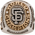 Baseball Collectibles:Others, 2010 San Francisco Giants World Series Championship Ring Presented to President of San Jose Giants....