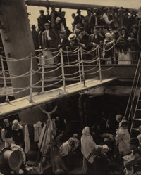 Alfred Stieglitz (American, 1864-1946) The Steerage, 1907 Large-format photogravure on vellum, 1915<