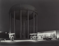George A. Tice (American, b. 1938) Petit's Mobil Gas Station, Cherry Hill, New Jersey, 1974 Gelatin