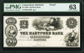 Obsoletes By State:Connecticut, Hartford, CT- Hartford Bank $2 18__ G120 Proof PMG Choice Uncirculated 63.. ...