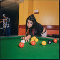 Photographs, Diane Patrice (British, 20th Century). Amy Winehouse, Pool Hall 1, Camden, London, 2004. Oversized dye coupler, printed ...