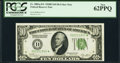 Fr. 2002-D* $10 1928B Federal Reserve Note. PCGS New 62PPQ