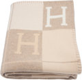 """Hermès Coco & Camomille Avalon III Blanket Condition: 1 53"""" Width x 67"""" Length"""