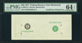 Error Notes:Inking Errors, Insufficient Inking of Face Printing Error Fr. 2072-E $20 1977 Federal Reserve Note. PMG Choice Uncirculated 64 EPQ.. ...