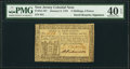 Colonial Notes:New Jersey, David Brearley Signed New Jersey January 9, 1781 3s 6d PMG Extremely Fine 40 EPQ.. ...
