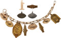 Football Collectibles:Others, 1939-41 Charles Henke Texas A&M Aggies Charm Bracelet. ...