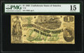 Confederate Notes:1862 Issues, T45 $1 1862 PF-2 Cr. 342 PMG Choice Fine 15.. ...