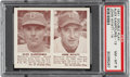 Baseball Cards:Singles (1940-1949), 1941 Double Play Alex Kampouris-John Wyatt #13/14 PSA NM-MT 8 - Only One Higher. ...