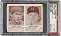 Baseball Cards:Singles (1940-1949), 1941 Double Play Mickey Owen-Paul Waner #15/16 PSA NM-MT 8 - Pop Four, None Higher. ...
