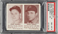 Baseball Cards:Singles (1940-1949), 1941 Double Play Jimmy Wasdell-Dolph Camilli #19/20 PSA NM-MT 8 - Pop Four, None Higher. ...