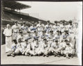 Autographs:Photos, 1948-50 Montreal Royals Team Signed Photograph, including Chuck Connors....