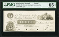 Newark, NJ- Newark Banking & Insurance Company $3 18__ G68 as Wait 1490 Proof PMG Gem Uncirculated 65 EPQ