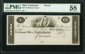 Cincinnati, OH- Unknown Issuer $10 18__ UNL Wolka 0655-04 Proof PMG Choice About Unc 58