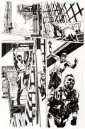 Original Comic Art:Panel Pages, John Paul Leon Batman:Incorporated Special #1 Story Pages 2 and 6 Original Art Group of 2 (DC Comics, 2013).... (Total: 2 Original Art)