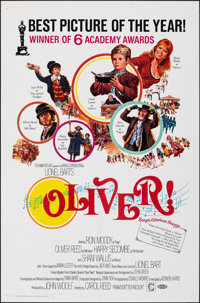 Oliver! & Other Lot (Columbia, 1969). Folded, Overall: Very Fine. International One Sheet & One Sheets (3) (27&q...