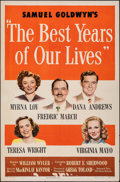 """Movie Posters:Academy Award Winners, The Best Years of Our Lives (RKO, 1946). Folded, Very Fine-. One Sheet (27"""" X 41"""") Style A. Academy Award Winners.. ..."""