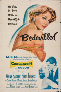 "Bedevilled & Other Lot (MGM, 1955). Folded, Fine+. One Sheets (2) (27"" X 41""). Crime. ... (Total: 2 Items)"