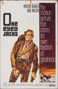 "One-Eyed Jacks & Other Lot (Paramount, 1961). Folded, Fine+. One Sheets (2) (27"" X 41""). Western. ... (Tot..."