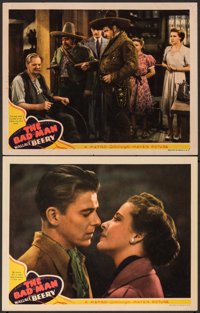 "The Bad Man (MGM, 1941). Very Fine-. Lobby Cards (2) (11"" X 14""). Western. ... (Total: 2 Items)"