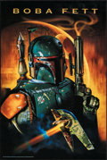 """Movie Posters:Science Fiction, Star Wars Fan Club: Boba Fett & Other Lot (20th Century Fox, 1997). Rolled, Overall: Very Fine. Poster (24"""" X 36"""") & Commerc... (Total: 2 Items)"""