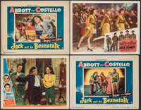 """The Time of Their Lives & Other Lot (Universal, 1946). Fine+. Lobby Cards (4) (11"""" X 14""""). Comedy. ... (To..."""