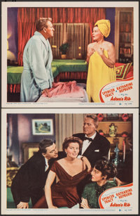 "Adam's Rib (MGM, 1949). Very Fine-. Lobby Cards (2) (11"" X 14""). Comedy. ... (Total: 2 Items)"